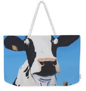 Cow On A Ditch Weekender Tote Bag