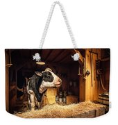 Cow On The Farm Weekender Tote Bag