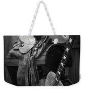 Cowboy Acoustic Guitar Weekender Tote Bag