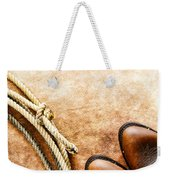 Cowboy Boots And Lasso Weekender Tote Bag