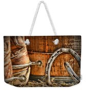 Cowboy Boots And Spurs Weekender Tote Bag by Paul Ward