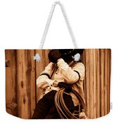 Cowboy Break Weekender Tote Bag