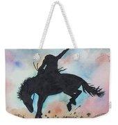 Cowboy Bronco Weekender Tote Bag