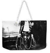 Cowboy, C1880 Weekender Tote Bag