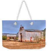 Cowboy Church Weekender Tote Bag by Tap On Photo