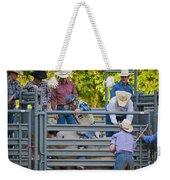 Cowboy Countdown Weekender Tote Bag
