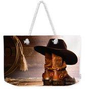 Cowboy Hat On Boots Weekender Tote Bag