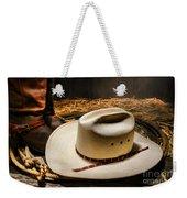 Cowboy Hat On Lasso Weekender Tote Bag