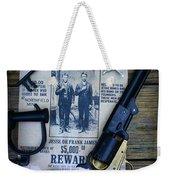 Cowboy - Law And Order Weekender Tote Bag by Paul Ward