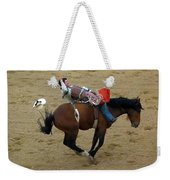 Cowboy Loses His Hat Weekender Tote Bag