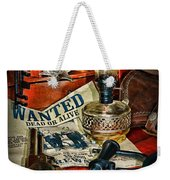Cowboy - The Sheriff Weekender Tote Bag