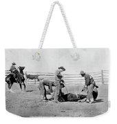 Cowboys, 1888 Weekender Tote Bag