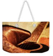 Cowgirl Boots And Country Music Weekender Tote Bag