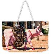 Cow Parade N Y C 2000 - Prima Cowlerina Weekender Tote Bag