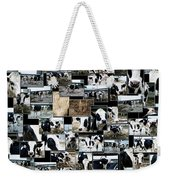 Cows Collage Weekender Tote Bag