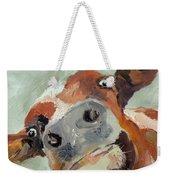 Cow's Eye View Weekender Tote Bag