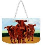 Cows Weekender Tote Bag