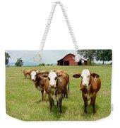 Cows8931 Weekender Tote Bag