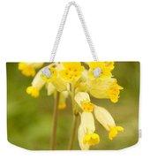 Cowslip   Primula Veris Weekender Tote Bag