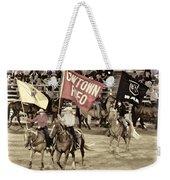 Cowtown Grand Entry Weekender Tote Bag