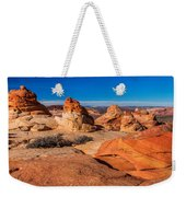 Coyote Lines Weekender Tote Bag by Chad Dutson