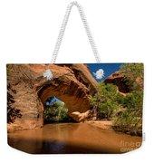 Coyote Natural Bridge - Coyote Gulch - Utah Weekender Tote Bag by Gary Whitton