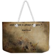 Coyote Proverb Weekender Tote Bag