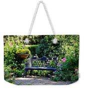 Cozy Southern Garden Bench Weekender Tote Bag