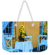 Cozy Table For Two Weekender Tote Bag
