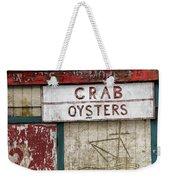 Crab And Oysters Weekender Tote Bag