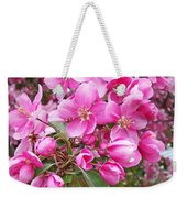 Crab Apple Blossoms Weekender Tote Bag