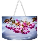 Crab Apple Tree Weekender Tote Bag