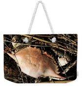 Crab Shell Weekender Tote Bag by William Selander
