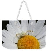 Crab Spider On Daisy Weekender Tote Bag