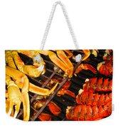Crab Vs. Lobster Weekender Tote Bag