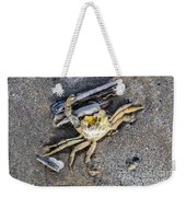 Crab With A Feather Weekender Tote Bag