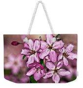 Crabapple Blossom Weekender Tote Bag