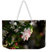 Crabapple Intricacies Weekender Tote Bag