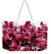 Crabapple Tree Blossoms Weekender Tote Bag