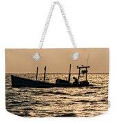 Crabbing On The Bay Weekender Tote Bag