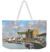 Crabbing - Wells-next-the-sea Norfolk Weekender Tote Bag