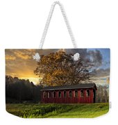 Crack Of Dawn Weekender Tote Bag by Debra and Dave Vanderlaan