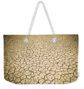 Cracked Ground Weekender Tote Bag