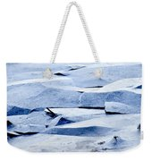 Cracked Icescape Weekender Tote Bag