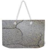 Cracked Tarmac Weekender Tote Bag by Tom Gowanlock