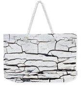 Cracked Wood Pattern Weekender Tote Bag