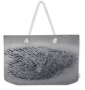 Crackles Weekender Tote Bag