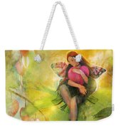 Cradle Your Heart Weekender Tote Bag