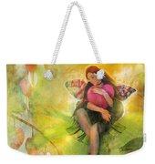 Cradle Your Heart Weekender Tote Bag by Aimee Stewart
