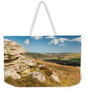 Crags Over Rothbury Weekender Tote Bag
